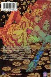 Jojo's bizarre adventure - saison 7 ; steel ball run T.12 - 4ème de couverture - Format classique