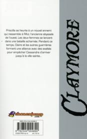 Claymore T.25 ; l'épée de l'abîme - 4ème de couverture - Format classique