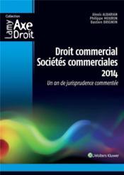 Droit commercial, sociétés commerciales 2014 ; un an de jurisprudence commentée (4e édition) - Couverture - Format classique