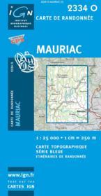 Mauriac - Couverture - Format classique