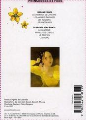 50 grands bons points ; les princesses et fées - 4ème de couverture - Format classique