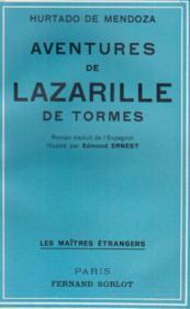 Les aventures de Lazarille de Tormes - Couverture - Format classique
