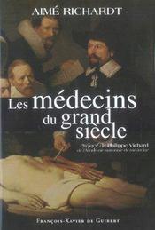 Les medecins du grand siecle - Intérieur - Format classique