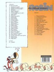 Léonard t.26 ; génie or not génie ? - 4ème de couverture - Format classique