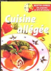 Cuisine Allegee - Couverture - Format classique