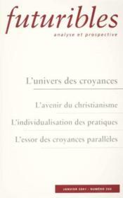 L'univers des croyances - Couverture - Format classique