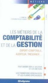 Les métiers de comptabilité et de la gestion (5e édition) - Couverture - Format classique