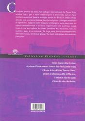 Maitrises et chapelles aux 17e et 18e siecles. des institutions music ales au service de dieu - 4ème de couverture - Format classique