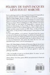 Pèlerin de saint-jacques, lève-toi et marche - 4ème de couverture - Format classique