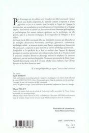 Aventure mythologique (une) - 4ème de couverture - Format classique