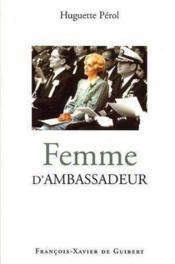 Femme d'ambassadeur - Couverture - Format classique