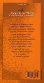 Sorcières et sorcellerie sur le chemin de compostelle - 4ème de couverture - Format classique
