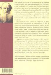 Ecrits Politiques De Tolstoi - 4ème de couverture - Format classique