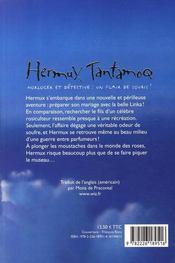 Hermux Tantamoq l'élixir de Rose - 4ème de couverture - Format classique