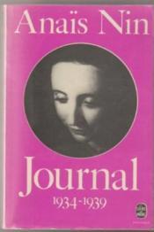 Journal /Anaïs Nin. 2. Journal. 1934-1939. Volume : 2 - Couverture - Format classique