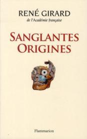 Sanglantes origines - Couverture - Format classique