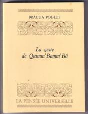 La geste de Quimm' Bomm' Bô - Couverture - Format classique