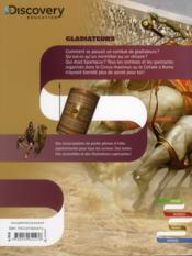 Gladiateurs - 4ème de couverture - Format classique