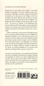 Chinongwa - 4ème de couverture - Format classique