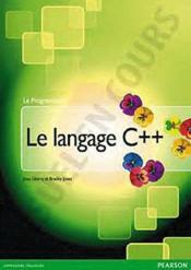 Le langage C++ - Couverture - Format classique