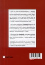 Mémo social (édition 2013) - 4ème de couverture - Format classique