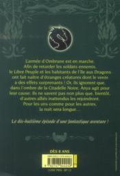 Les dragons de Nalsara t.18 ; avant que le jour se lève - 4ème de couverture - Format classique
