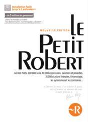 Le petit Robert ; coffret numérique (édition 2014) - Couverture - Format classique