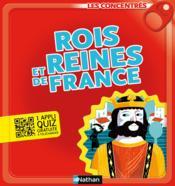 Rois et reines de France - Couverture - Format classique