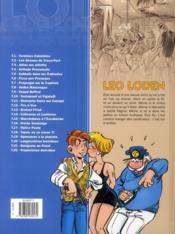 Léo Loden T.22 ; tropézienne dum-dum - 4ème de couverture - Format classique