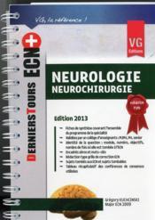 telecharger Ecn + Neurologie Neurochirurgie 2013 livre PDF/ePUB en ligne gratuit