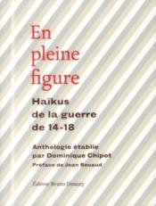 En pleine figure ; haïkus de la guerre de 14-18 - Couverture - Format classique