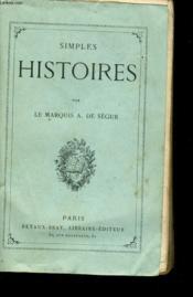 Simples Histoires - Couverture - Format classique