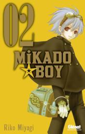 Mikado boy t.2 - Couverture - Format classique