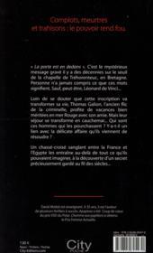 Le passage des ombres - 4ème de couverture - Format classique