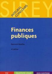 Finances publiques (14e édition) - Intérieur - Format classique