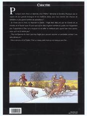 Les 7 vies de l'épervier t.2 ; le temps des chiens - 4ème de couverture - Format classique