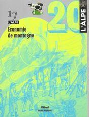 L'ALPE N.17 ; économie de montagne - Intérieur - Format classique