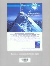 L'ALPE N.17 ; économie de montagne - 4ème de couverture - Format classique