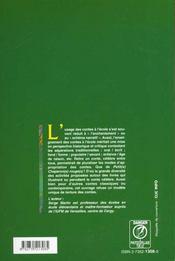 Les Contes A L'Ecole - 4ème de couverture - Format classique