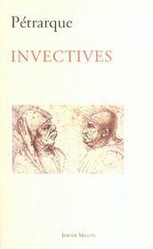 Invectives - Intérieur - Format classique