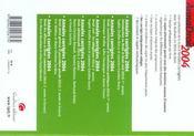 Annadroit 2004. droit constitutionnel et institutions politiques (édition 2004) - 4ème de couverture - Format classique