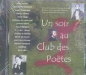 Un soir au club des poètes - Couverture - Format classique