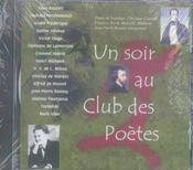 Un soir au club des poètes - Intérieur - Format classique