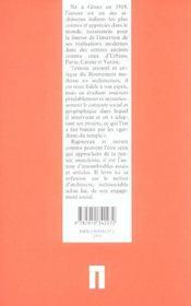 Architecture et liberté - 4ème de couverture - Format classique