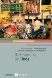 Dictionnaire de l'Inde - Couverture - Format classique