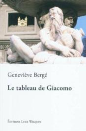 Le tableau de Giacomo - Couverture - Format classique