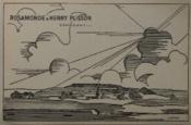DANS LES TOILES DE ROSEMONDE ET HENRY PLISSON Carton d'invitation exposition 14 novembre 1941 chez René Breteau. - Couverture - Format classique