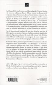 Jean Ferrat ; le chant d'un révolté - 4ème de couverture - Format classique
