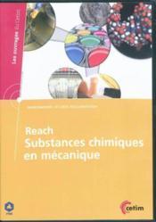 Reach Substances Chimiques En Mecanique Environnement Securite Reglementation Ref 6a31 Dvd - Couverture - Format classique