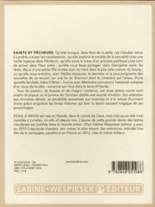 Saints et pêcheurs - 4ème de couverture - Format classique